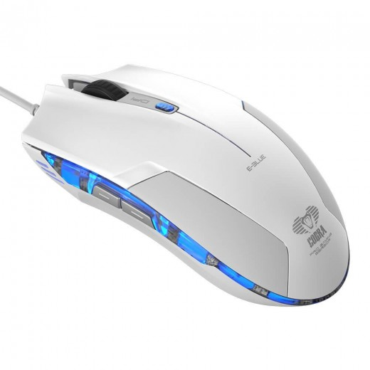 E 3lue EMS109 Wired Optical Gaming Mouse 1600DPI LED Light USB Computer Laptop Mause Mice