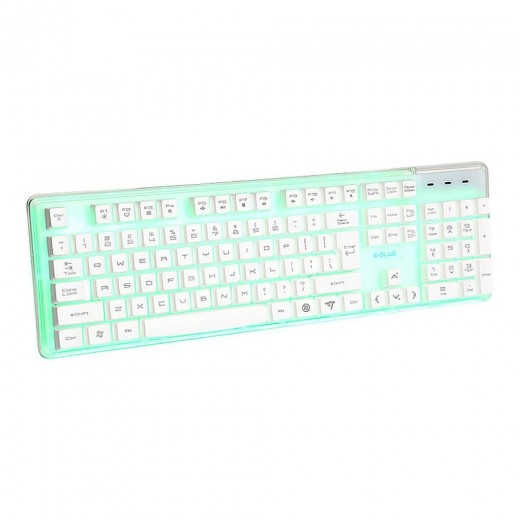 E - 3LUE EMK725 Waterproof Colorful Backlit Professional LED Gaming Keyboard