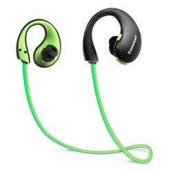 Auriculares Bluetooth Tronsmart Resistencia al agua IP66, Auriculares inalámbricos deportivos, luces LED Auriculares intrauditivos Richer Bass
