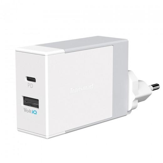 Cargador de pared Tronsmart 42W USB-C 2-Port