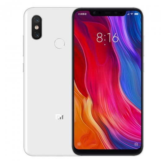 Xiaomi Mi8 6.21 Inch 4G LTE Smartphone Snapdragon 845 6GB 128GB Type-C Fast Charge