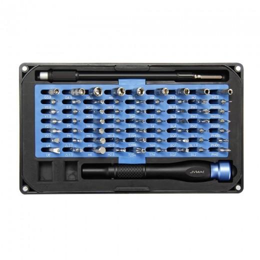 JVMAC V6 Plus 76pcs in 1 Multi-function Screwdriver Set