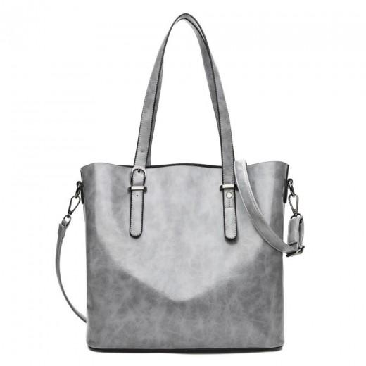 Fashion Tote Purse Satchel Bag PU Leather Bag Women's Handbag