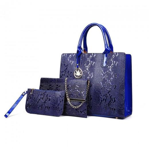 Fashion Toet Purse Satchel Bag PU Leather Women's Handbags