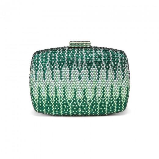 CAIYUE Women Handbag Wedding Party Evening Envelope Clutch Bag Wallet Purse Messenger Phone Bag - Green