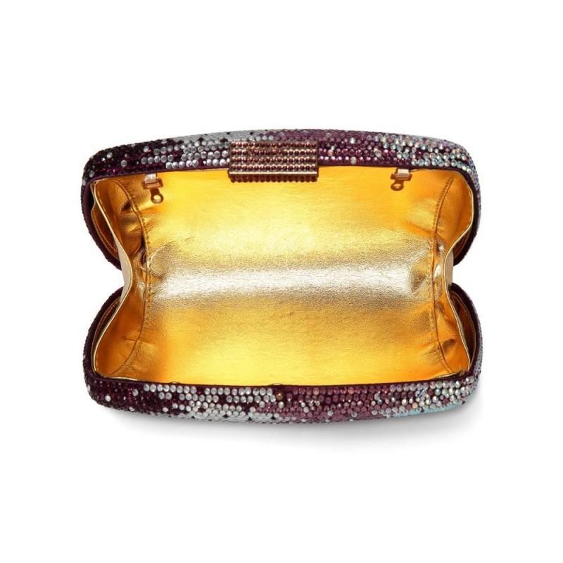f5838b164 CAIYUE Women Handbag Wedding Party Evening Envelope Clutch Bag Wallet Purse  Messenger Phone Bag Purple ...
