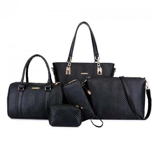 ashion Toet Purse Satchel Bag PU Leather Women's Handbags