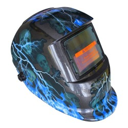 lightning Solar Auto Darkening MIG MMA Electric Welding Mask/Helmet/Welding Lens for Welding Machine or Plasma Cutter