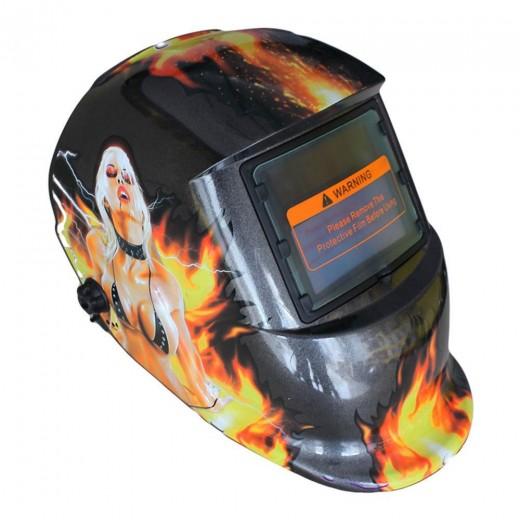 beauty Solar Auto Darkening MIG MMA Electric Welding Mask/Helmet/Welding Lens for Welding Machine or Plasma Cutter