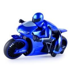CSRC-22 2.4G 1: 16 Drift RC Motocicleta con luz LED RTR