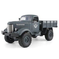 JJRC Q61 Transporter RC Car 2.4G 1: 16 4WD Brushed Off-Road Military Truck RTR