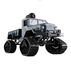 Fayee FY001B Wifi FPV RC Car 4CH 4WD 1:16 Brushed Off-road Army Truck Snow Tires RTR - Army