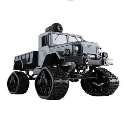 Fayee FY001B Wifi FPV RC Coche 4CH 4WD 1: 16 Cepillado Off-road Army Truck Nieve Neumáticos RTR - Ejército