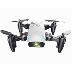 BROADREAM S9 Mini Foldable RC Quadcopter with Headless Mode LED Lights RTF
