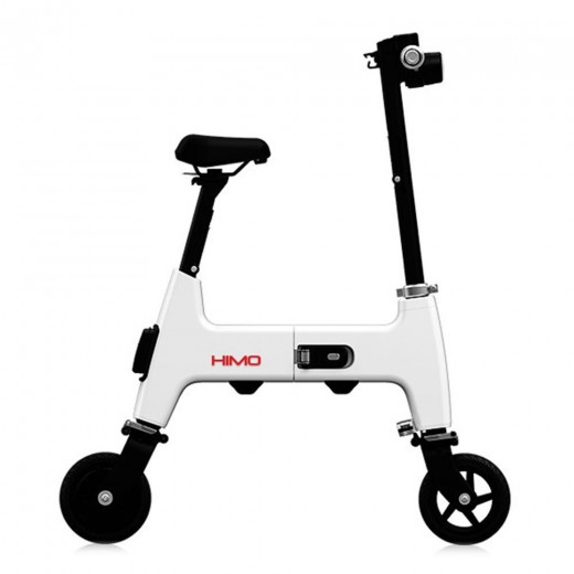 Xiaomi HIMO H1 Portable Folding Two-Wheel Electric Bicycle 20KM Endurance A3 Paper Size Safe And Comfort