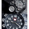 Rechargeable Waterproof LED Flashlight Watch with Compass