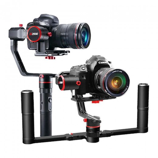 Feiyu Tech A2000 3-Axis Handled Gimbal Stabilizer for Mirrorless DSLR Camera