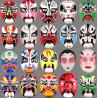 Festival Performance Hand-Painted Pulp Mask Chinese-Style Peking Opera Mask
