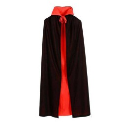 Halloween Hooded Cape Boys and Girls Super Party Clothes Cloak Cosplay Costume