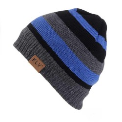 Fall Winter Men Women Classic Fashion Color Matching Stitching Wool Hat Knitted Hat Ski Cap