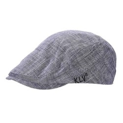 Unisex KLV Fashion Bamboo Hat Men Women Peaked Cap Beret Painter Beret