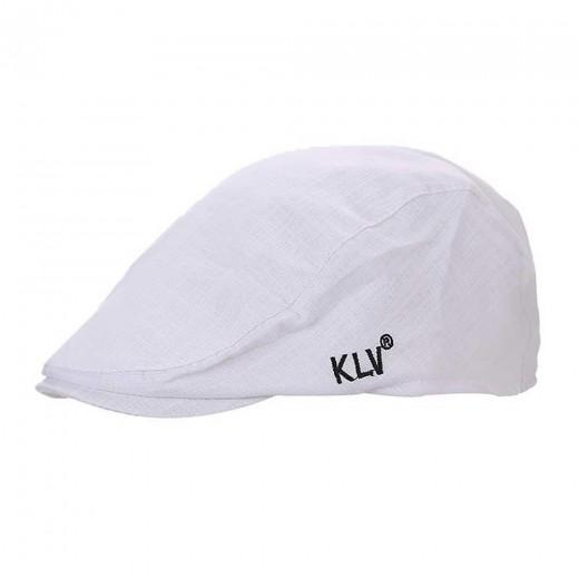 Unisex KLV Fashion Bamboo Hat Men Women Peaked Cap Beret Painter Beret