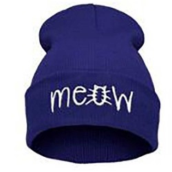 Men Women Outdoor MEO Sweater Hat Hiphop Knit Hat
