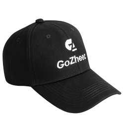 Men's sun visor cap black