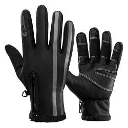 Warm Windproof Smartphone Texting Glove Thermal for Hiking Driving Cycling Running