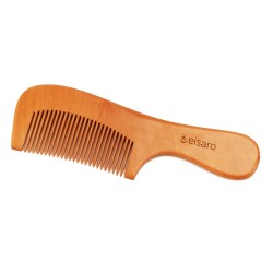 Eisaro Hair Comb –Detangling Fine Tooth Wooden Hair Combs, Green Sandalwood Buffalo Horn Comb, Gift for Men Women and Kids